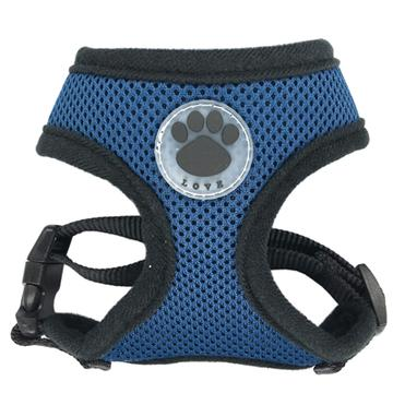 mesh harness for a french bulldog
