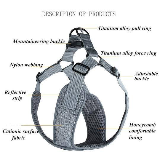 french bulldog harness
