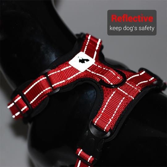 no-pull breathable french bulldog harness