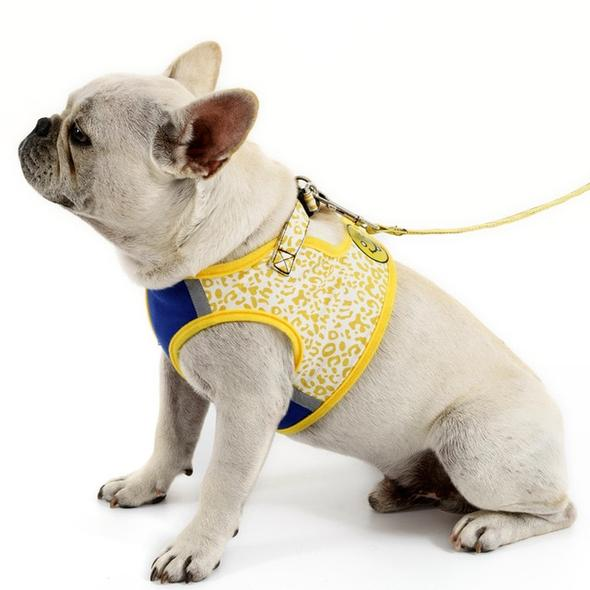breathable french bulldog harness