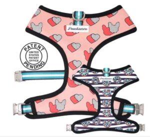 french bulldog reversible harness