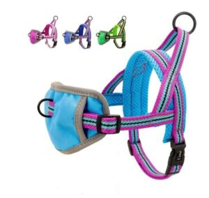 no-pull mesh french bulldog harness