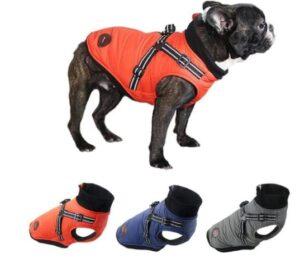 French Bulldog Harness Winter Vest